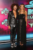 Redfoo and Victoria Azerenka