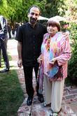 Asghar Farhadi and Agnes Varda
