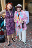 Marie France and Agnes Varda