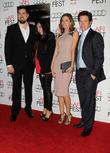 Mark Wahlberg, Melanie Juneau, Rhea Durham and Marcus Luttrell