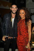 Daniel Shemtob, Mel B and Melanie Brown