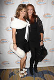 Sandra Taylor and Angie Everhart