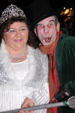 Cheryl Fergison and George Telfer