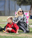 Gwen Stefani and Kingston Rossdale