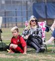 Gwen Stefani and Kingston Rossdale