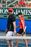 David Cook and Chris Evert