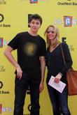 Julian Murray Stern and Lisa Kudrow