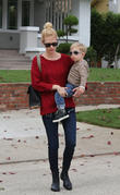 January Jones and Xander Dane Jones