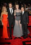 Elizabeth Banks, Liam Hemsworth, Jennifer Lawrence, Josh Hutcherson, Nokia Theatre L.A. Live
