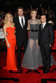 Elizabeth Banks, Liam Hemsworth, Jennifer Lawrence and Josh Hutcherson