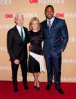 Anderson Cooper, Kelly Ripa and Michael Strahan