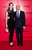 Stanley Tucci and wife