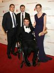 Matthew Reeve, Will Reeve, Francesco Clark and Alexandra Reeve Givens