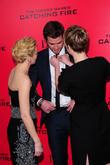 Elizabeth Banks, Liam Hensworth and Jennifer Lawrence
