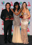 Claudia Elena Vasquez, Carlos Vives and Natalie Cole