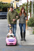 Alexis Denisof, Alyson Hannigan and Satyana