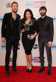 Charles Kelley, Hillary Scott, Dave Haywood, Nokia Theatre L.A. Live, American Music Awards