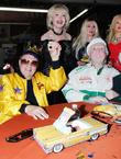 George Barris, Marty Ingles, Francine York and Mamie Van Doren