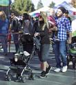 Hilary Duff, Mike Comrie, Luca Comrie, Studio City