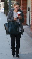 Hilary Duff seen out and about