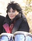 Joan Jett Walks The Runway For Charity Fashion Event