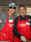 Kevin Nealon and LA Police Chief Charlie Beck