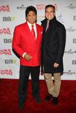 Erik Estrada and Mayor Eric Garcetti