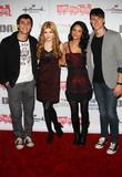 Katherine McNamara, Bianca A. Santos, Shane Harper, On Hollywood Blvd, Hollywood Christmas Parade