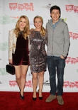 Taylor Sprietler, Melissa Joan Hart and Nick Robinson