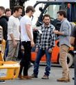 Jason Sudeikis, Chris Pine, Jason Bateman and Charlie Day