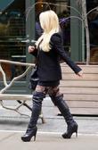 Jessica Simpson seen in Soho New York City