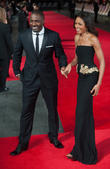 Idris Elba, Naomie Harris, Odeon Leicester Square