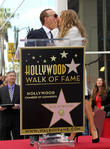 Tommy Mottola, Thalia, on the Hollywood Walk of Fame