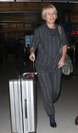 Emma Thompson arrives at LAX
