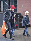 Naomi Watts, Samuel Schriber and Sasha Schriber