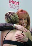 Miley Cyrus and Kathy Griffin