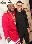 Celebration, Rico Love and Curator Adam