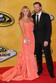 Las Vegas, Dale Earnhardt Jr and Amy Reimann