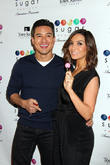 Mario Lopez and Courtney Mazza Lopez