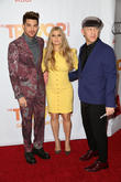 Adam Lambert, Fergie and Ryan Murphy