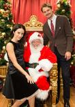 Abigail Spencer, Santa Claus and Josh Pence