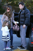 Jennifer Garner, Ben Affleck and Seraphina Affleck