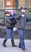 Pink, Carey Hart, Willow and Alecia Beth Moore