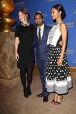 Olivia Wilde, Aziz Ansari and Zoe Saldana
