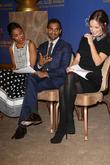 Zoe Saldana, Aziz Ansari, Olivia Wilde, Beverly Hilton Hotel, Golden Globe Awards