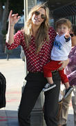 Molly Sims and Brooks Stuber
