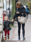 Abbey Clancy and Sophia Ruby