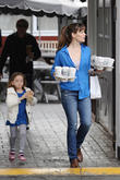 Jennifer Garner and Seraphina Affleck