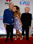 Ariana Grande, with her grand parent, Jam, BB and T Center
