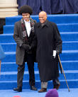 Harry Belafonte and Dante De Blasio